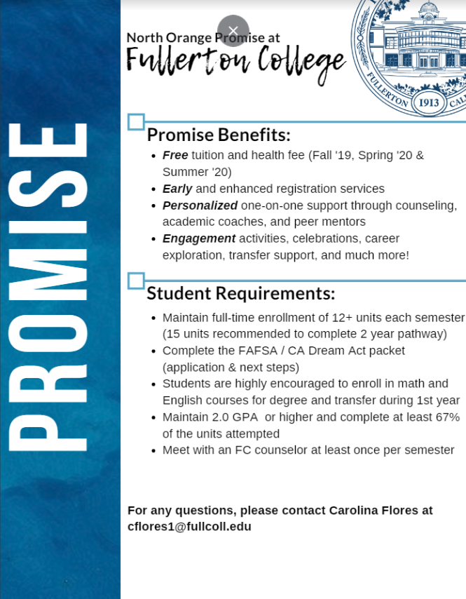 Fullerton College Promise Program