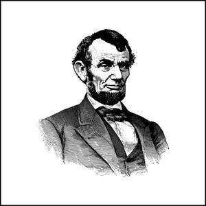 Portrait of Abe Lincoln