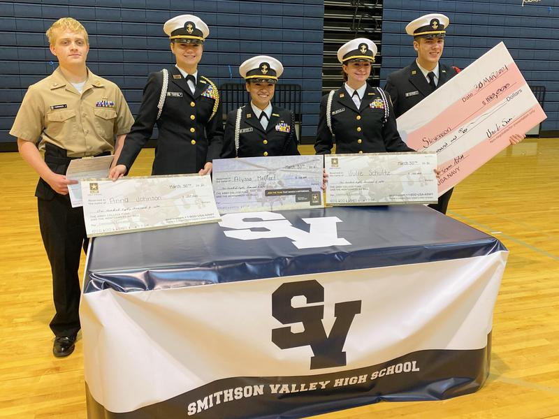 SVHS ROTC senior scholarship honorees