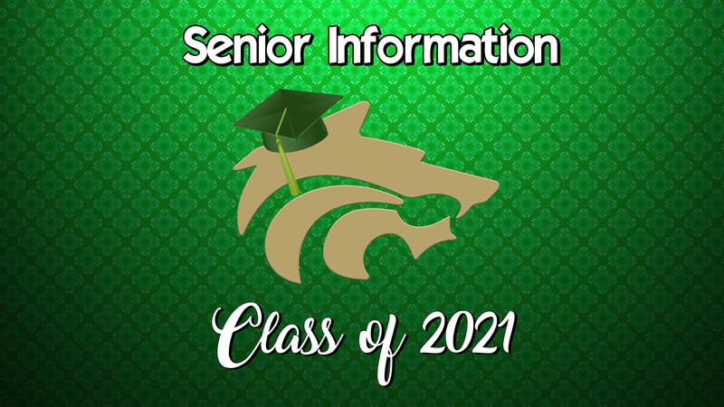 Senior Information - Class of 2021 Featured Photo