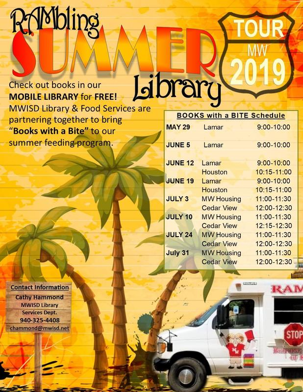 Rambling Library Schedule
