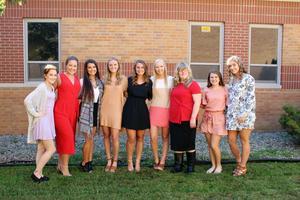 Homecoming Court Seniors