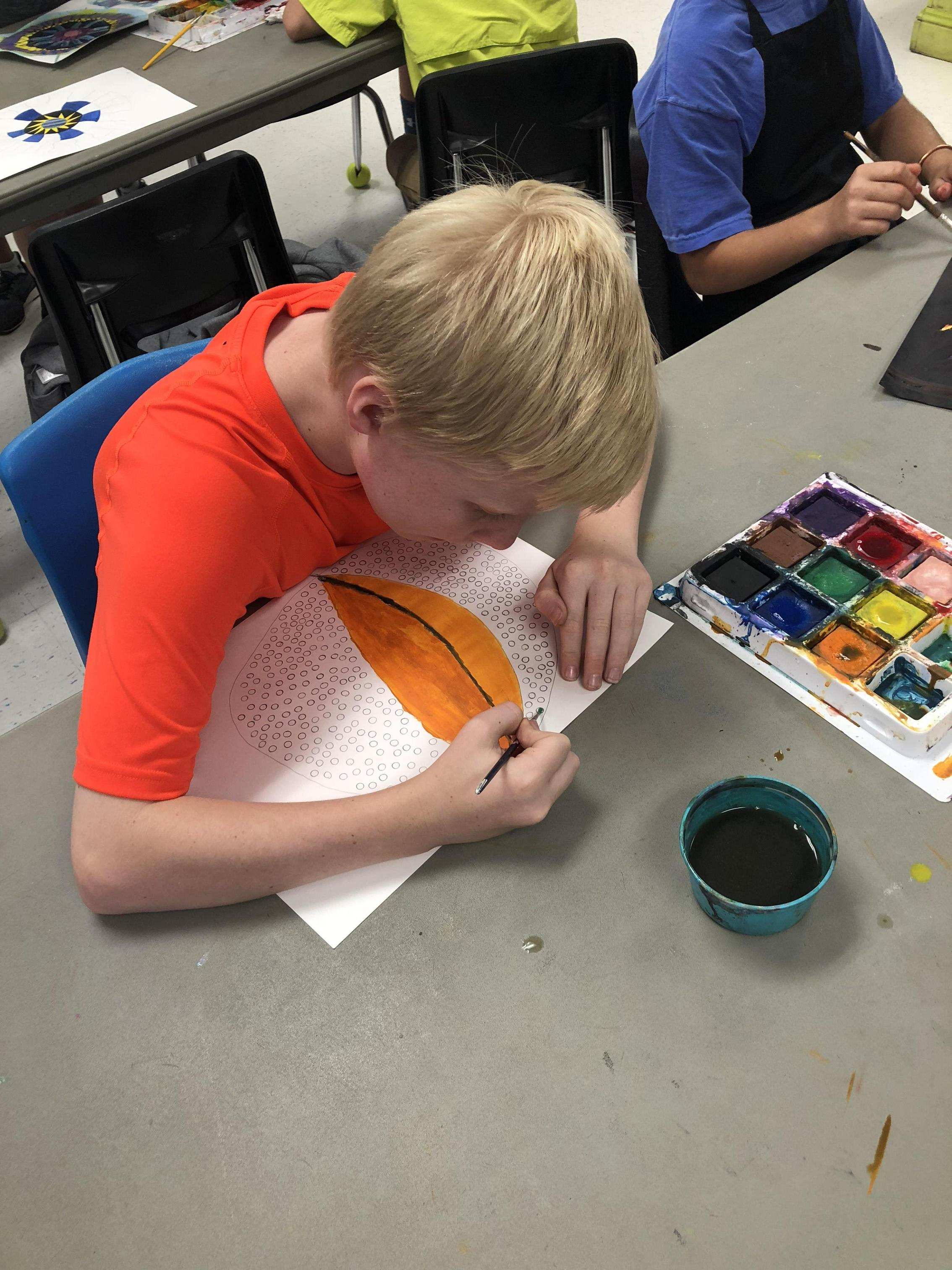 Art projects in elementary