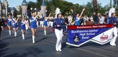 BU Marching Band at Magic Kingdom in Disney World