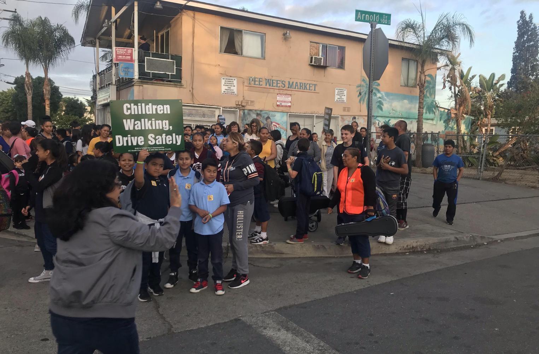 Walk to School Event