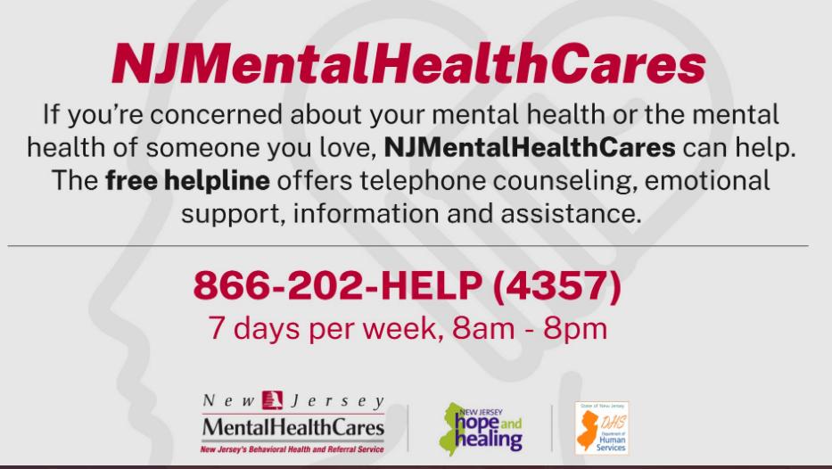 NJ mental health cares logo