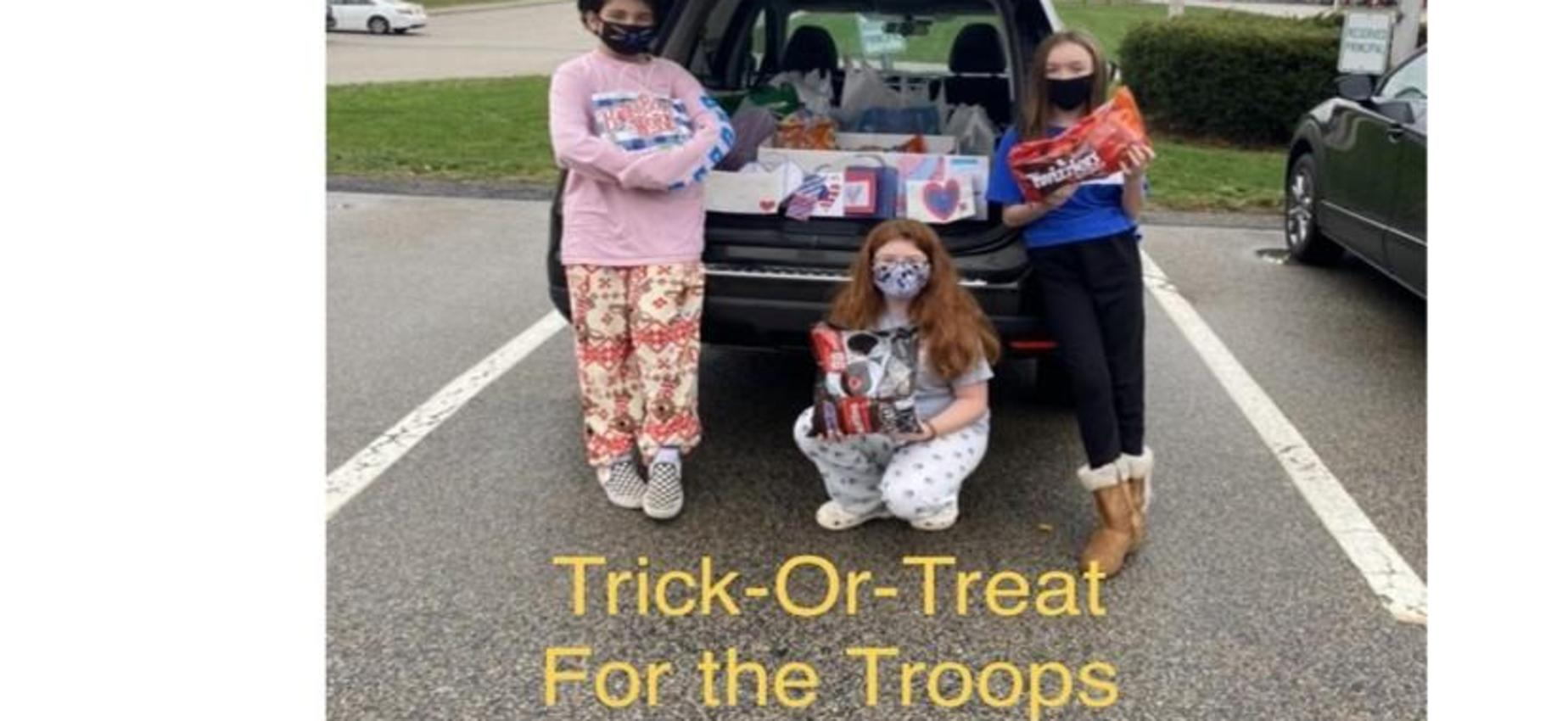 Trick-Or-Treat For the Troops 2020