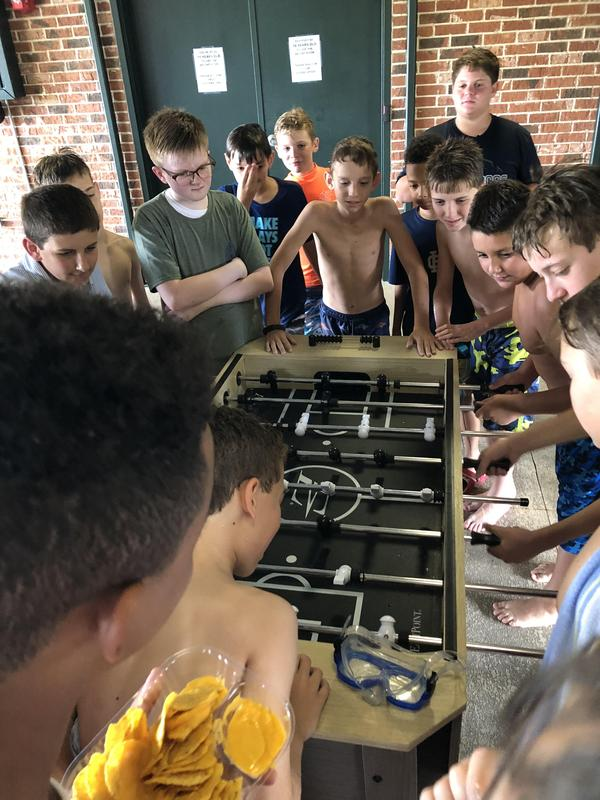 Seventh Graders Kick off the Year with Swimming Social Featured Photo