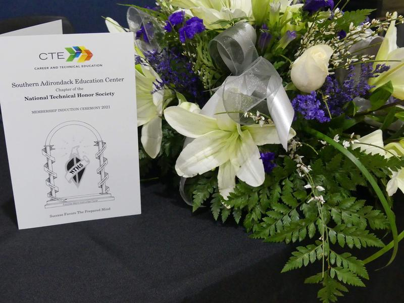 Flowers and NTHS brochure