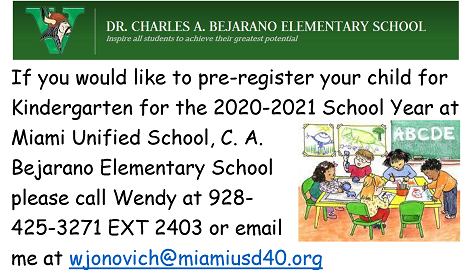 Pre-Registration for Kindergarten Featured Photo