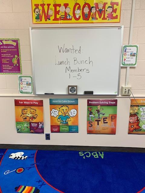 Wanted: Students for Lunch Bunch