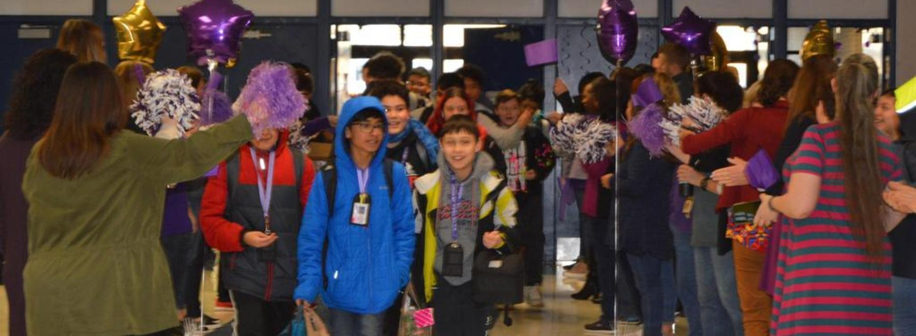 Kindness Tunnel at ITJHS