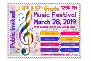 Music Festival March 28th