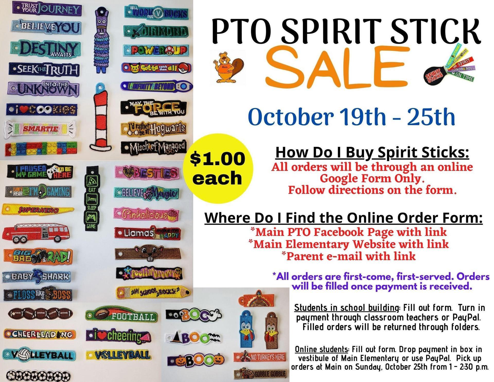 spirit stick sale