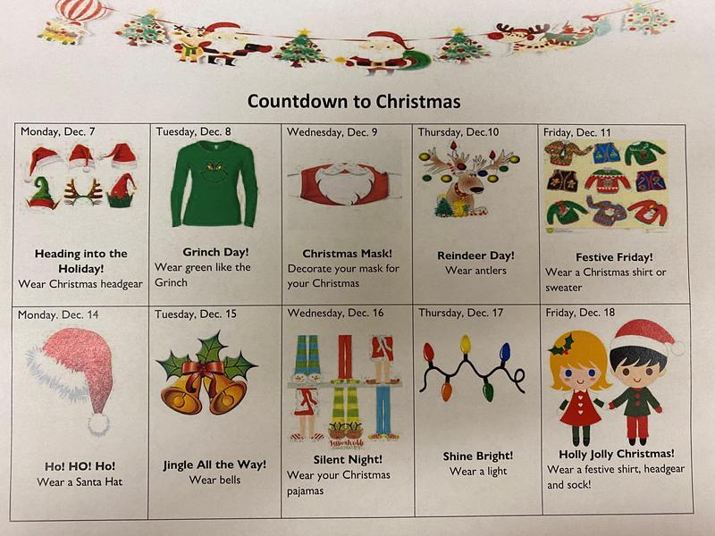 calendar of christmas events