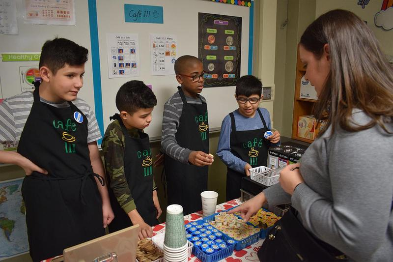 Essential Life Skills students open Café 111 Thumbnail Image