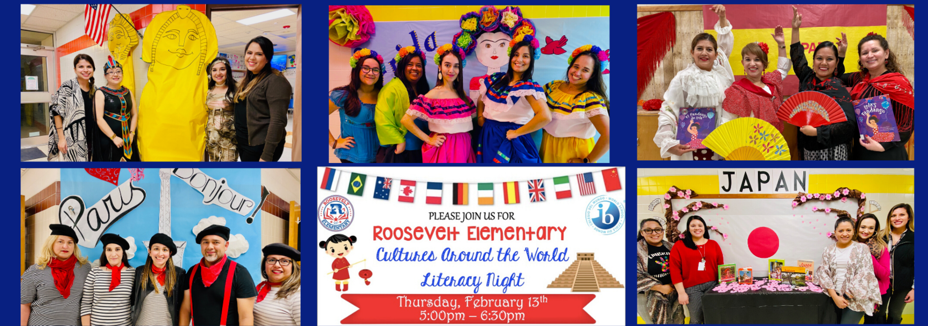 Cultures around the world literacy event
