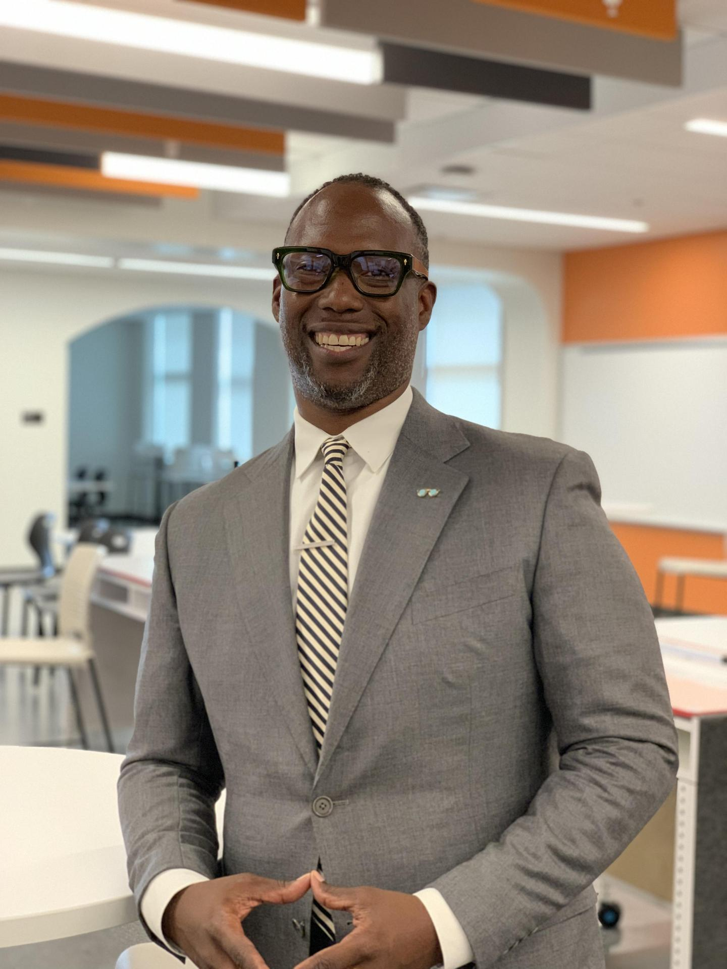 Mr. Torray Johnson, Assistant Principal, Special Services
