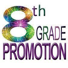 8th Grade Promotion Ceremonies - Save the Date! Thumbnail Image