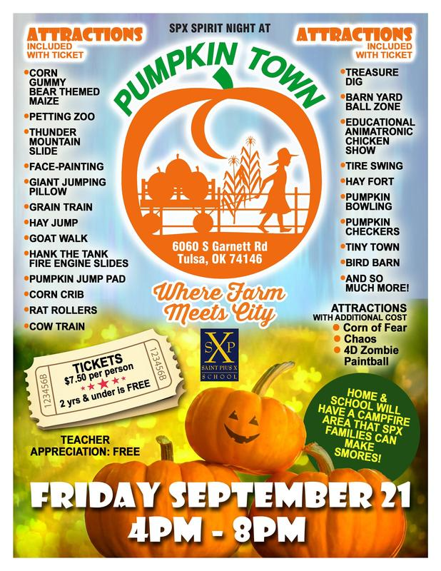 Spirit Night at Pumpkin Town! Thumbnail Image