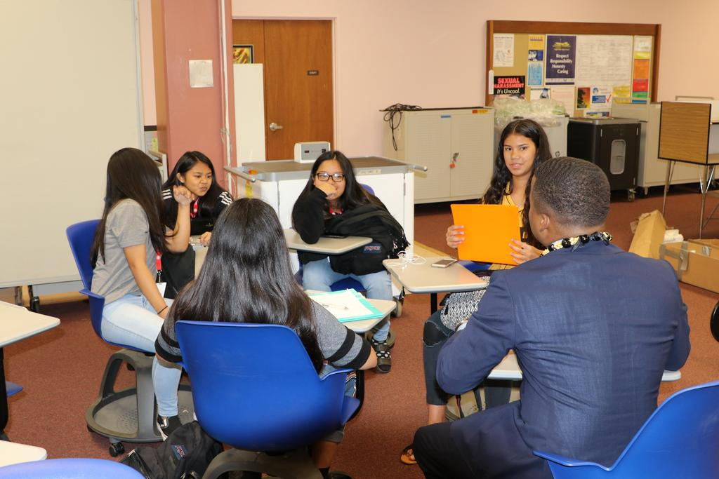 M. Bennett small group discussion