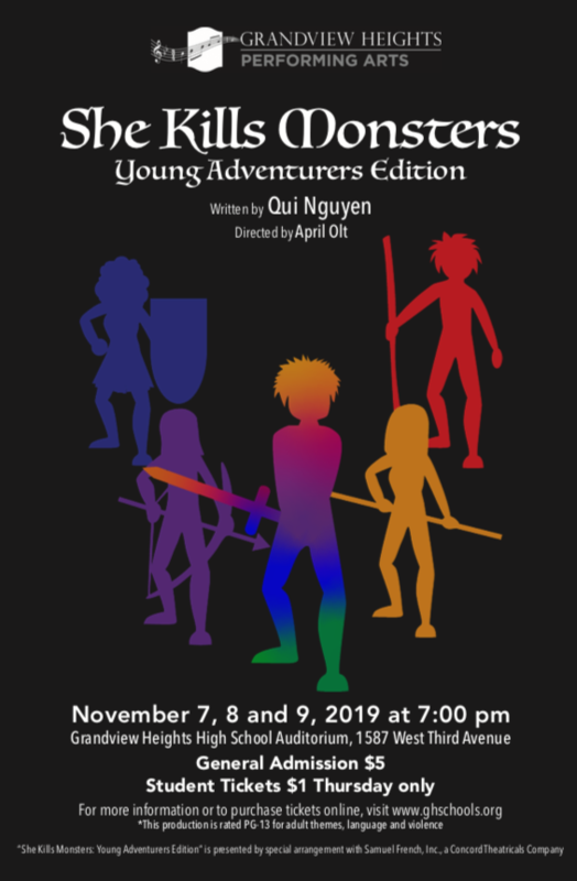 fall play poster