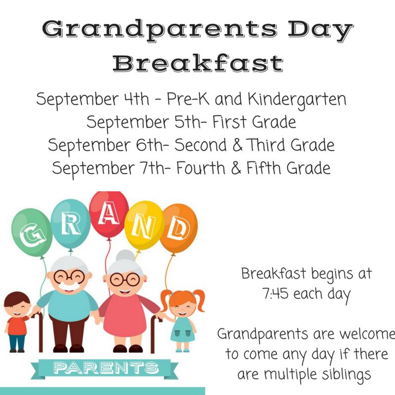 Grandparents Day Breakfast