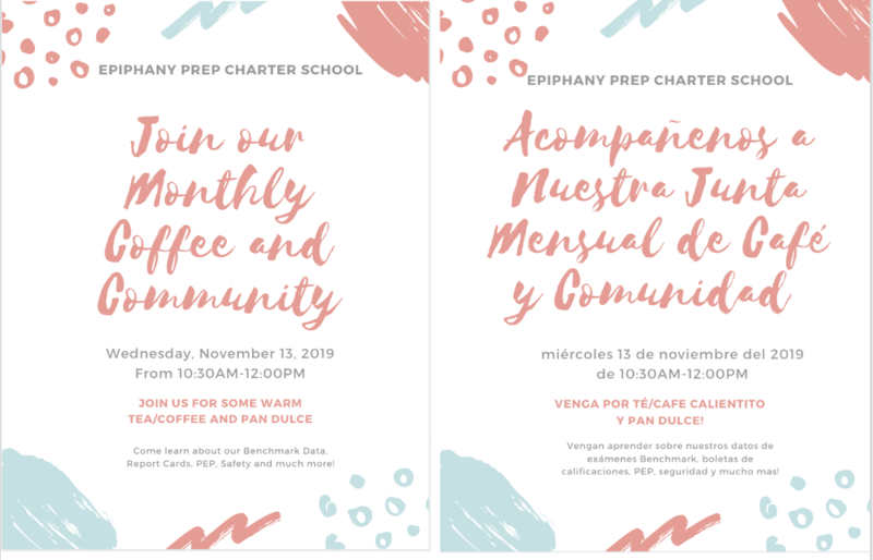 Invitation to coffee and community