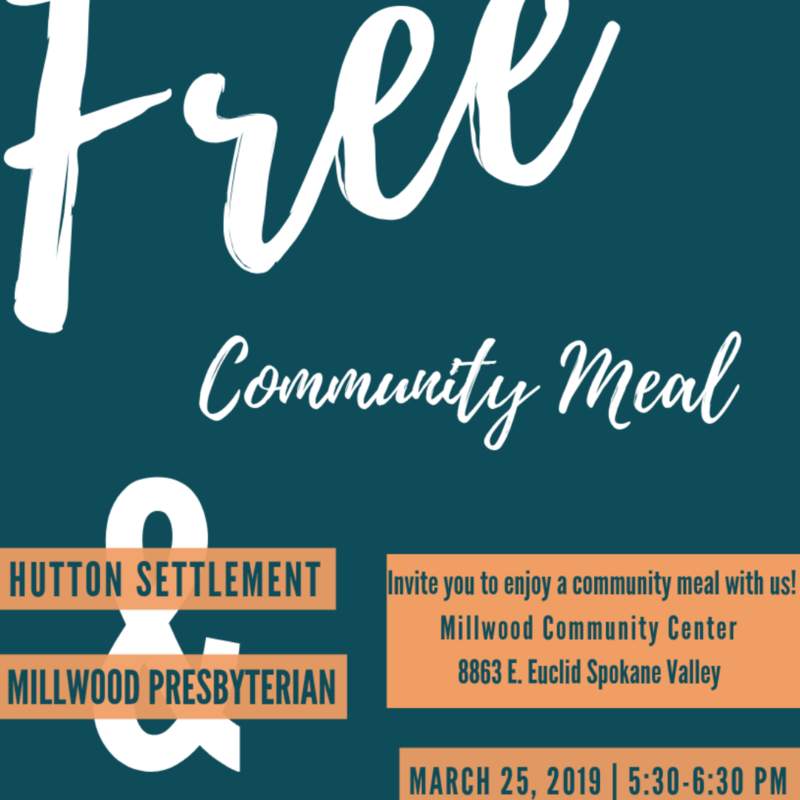 Free Meal poster