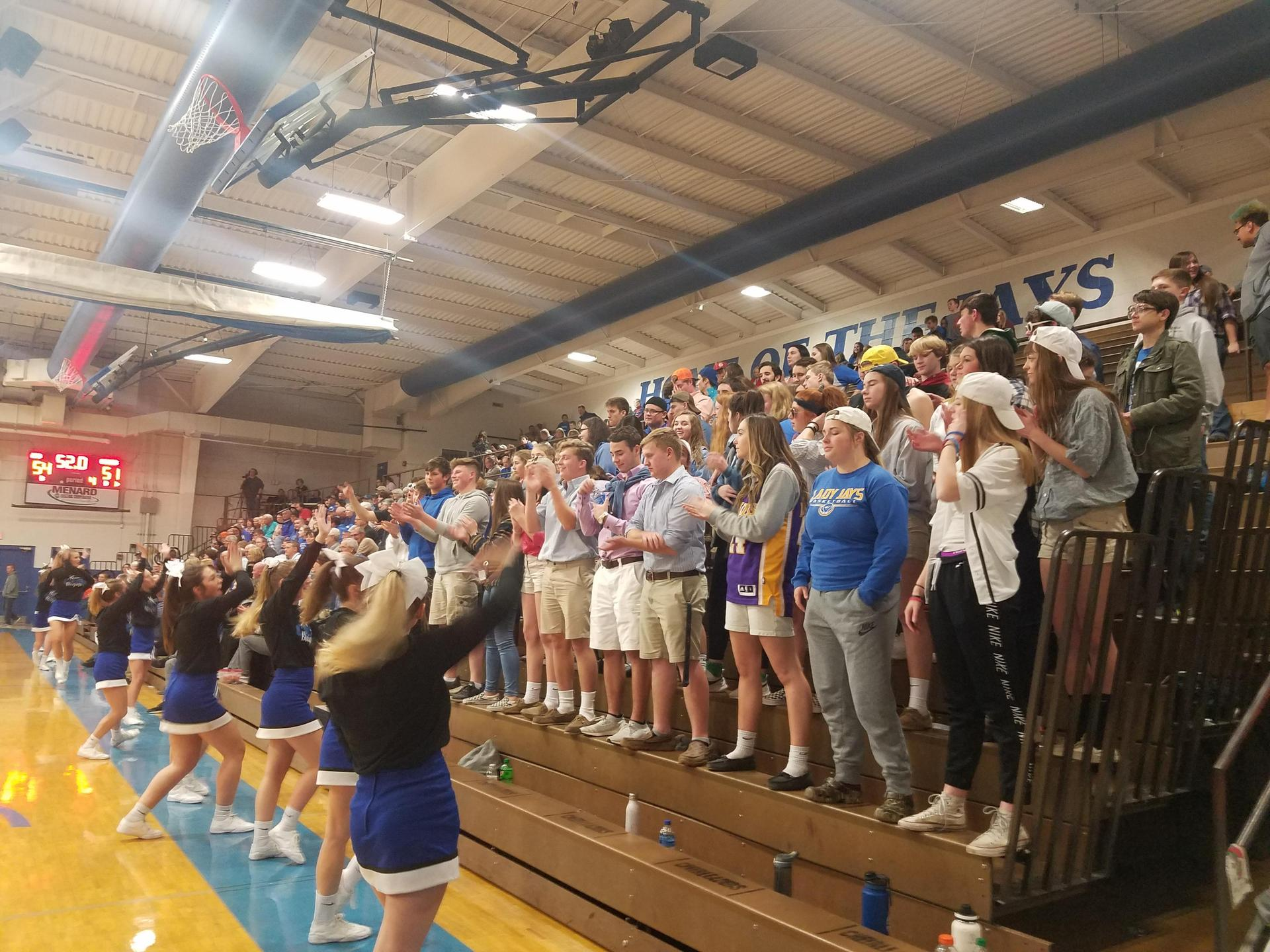 Student Section 2018-19