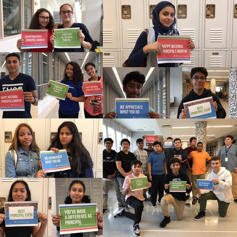 Maspeth High School Community Celebrates National Principals Month Featured Photo