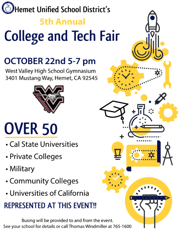 College and Tech Fair