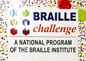 Poster: Braille Challenge - A National Program of the Braille Institute