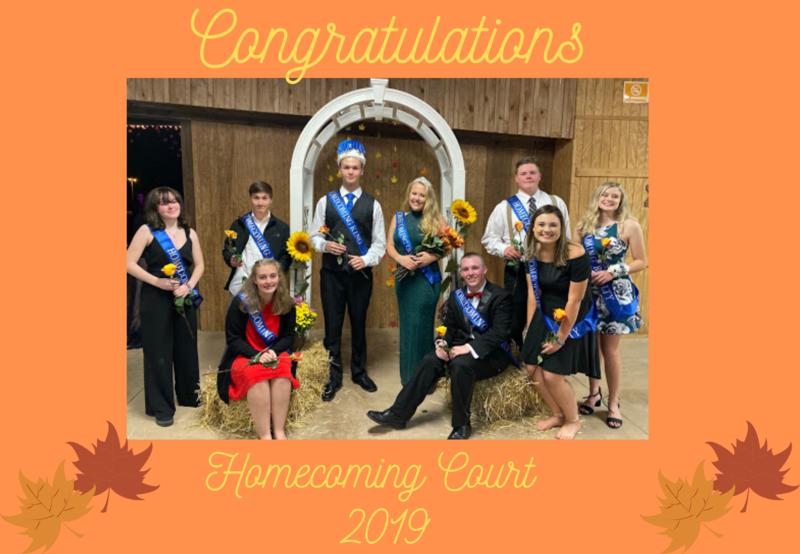 Homecoming Court 2019 Thumbnail Image