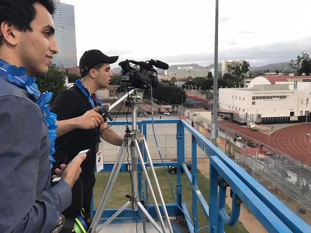 Football Game Lift Camera