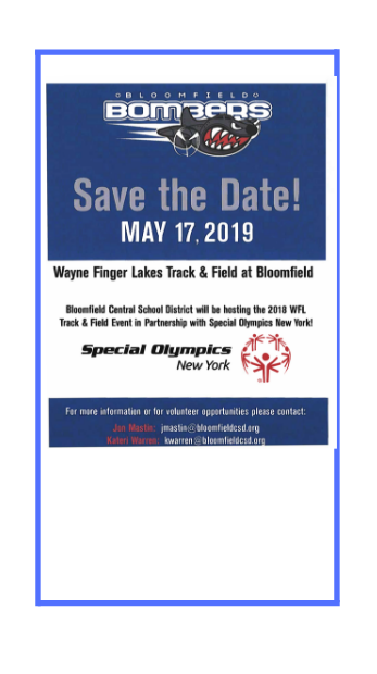 special olympics save the date flier