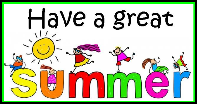 Have a fun summer