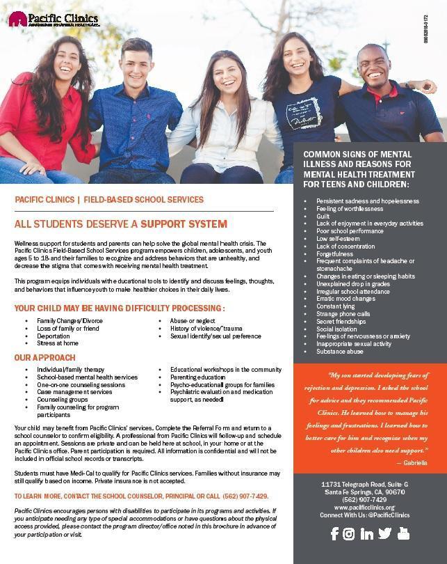 Pacific Clinics Services