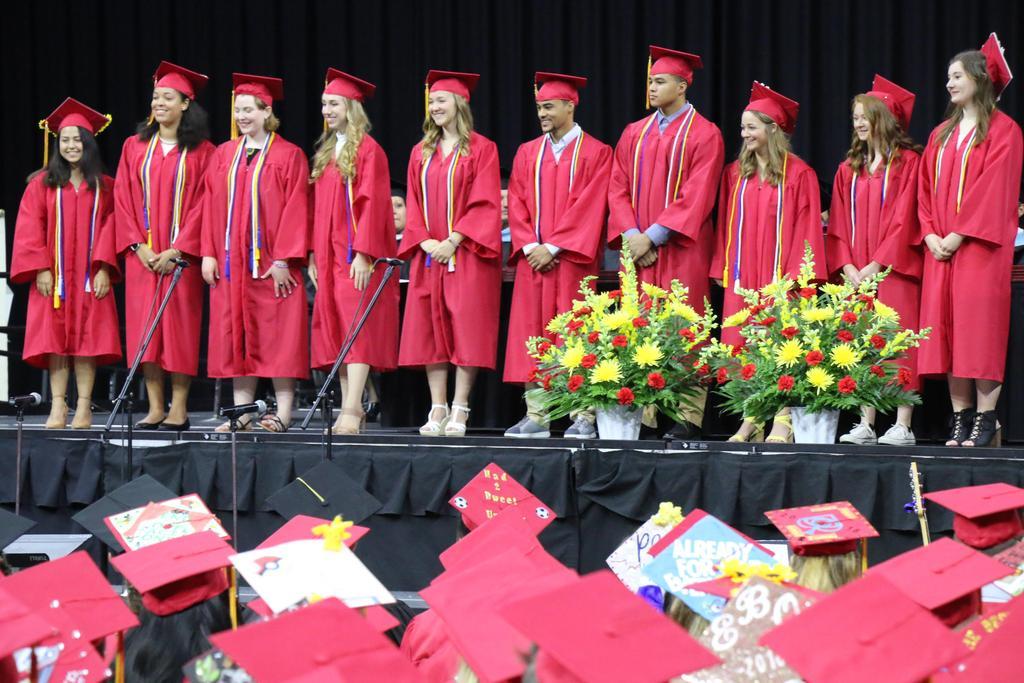 RIHS Graduation Top Ten