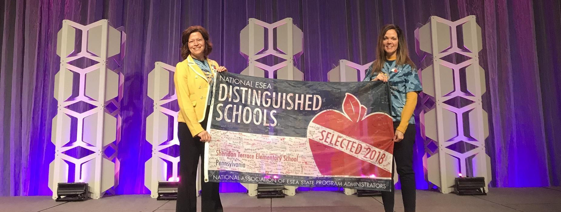 Sheridan Terrace Named National Title I Distinguished School