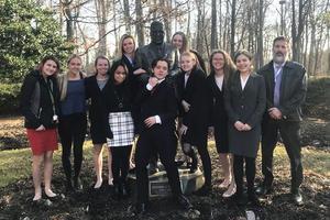 Mainland Mock Trial team