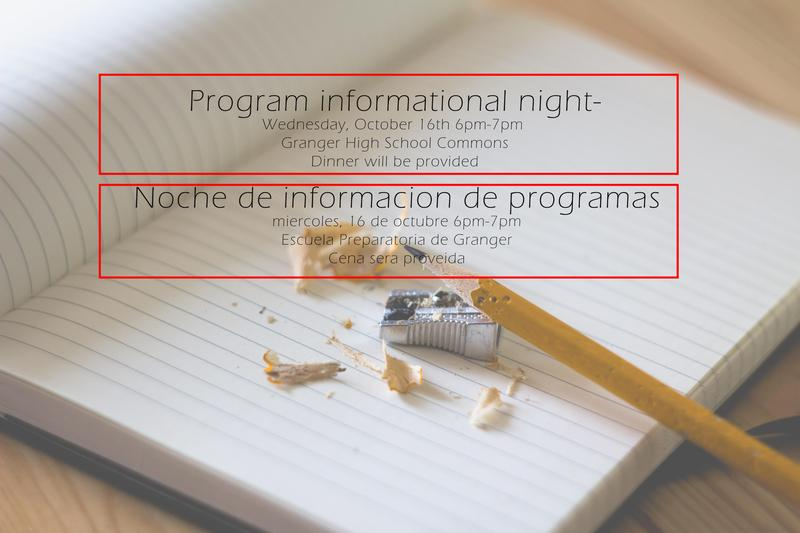 Federal Programs night picture