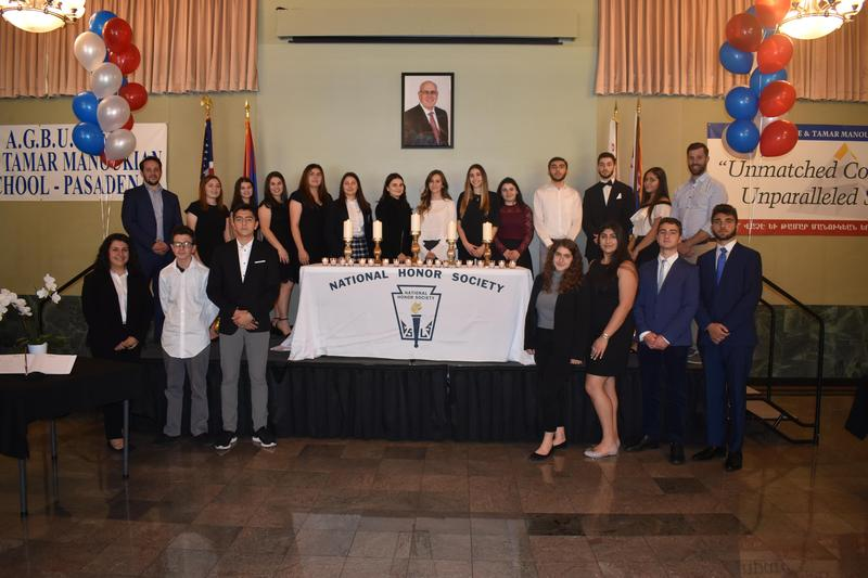 National Honor Society Induction Ceremony Featured Photo