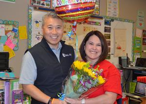 Elementary Teacher of the Year Rishanne Frech