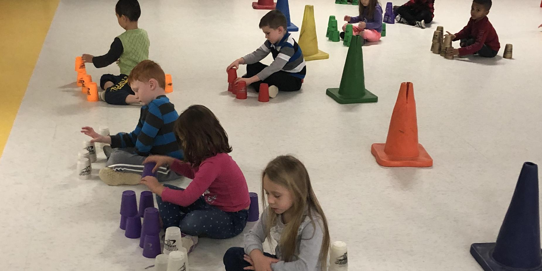 Cup Stacking Day!