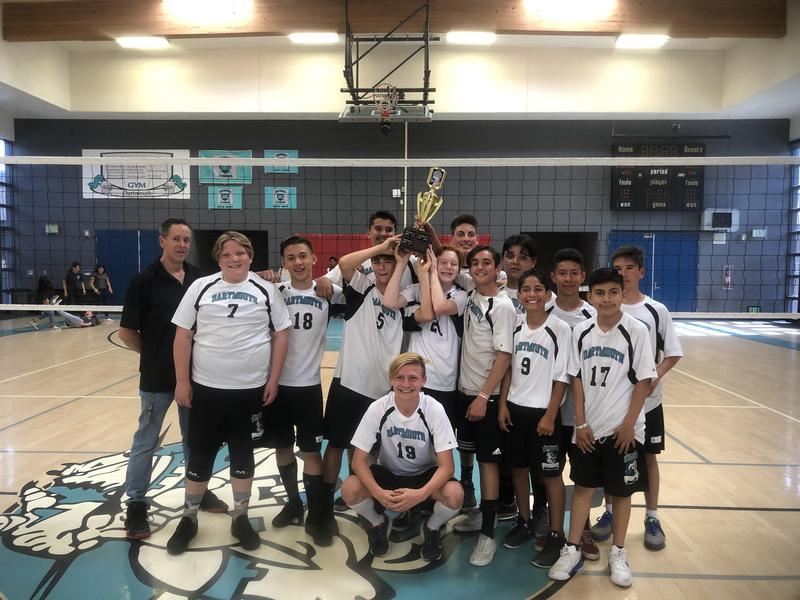 Dartmouth Boys Volleyball Team - Diamond Valley League Champions
