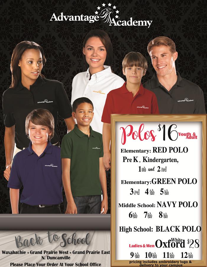 Advantage Academy school uniforms photo