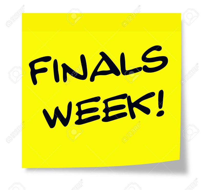 High School Finals schedule Thumbnail Image