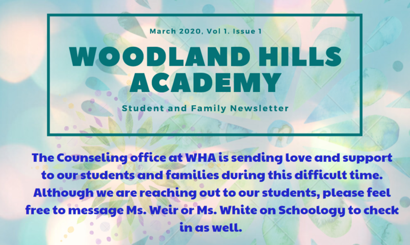WHA Counseling Newsletter Featured Photo