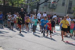 kids running race
